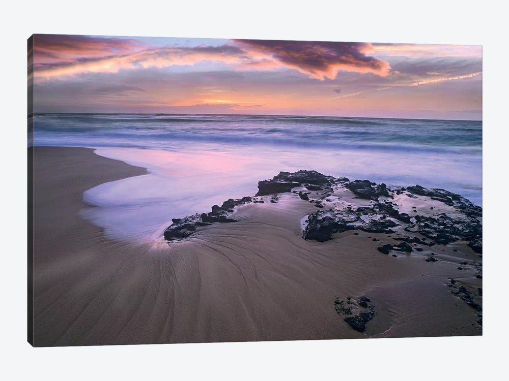 Sandy Beach, Oahu, Hawaii by Tim Fitzharris 1-piece Art Print