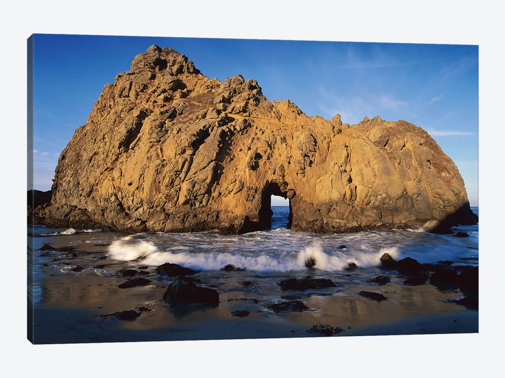 Sea Arch At Pfeiffer Beach, Big Sur, California by Tim Fitzharris 1-piece Canvas Art Print