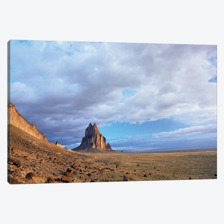 Shiprock, The Basalt Core Of An Extinct Volcano, New Mexico II Canvas Print #TFI993} by Tim Fitzharris Canvas Artwork