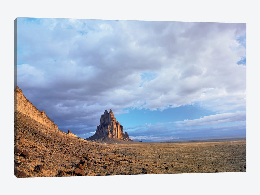 Shiprock, The Basalt Core Of An Extinct Volcano, New Mexico II by Tim Fitzharris 1-piece Canvas Artwork