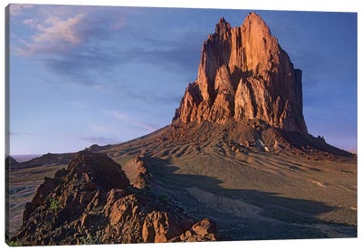 Shiprock, The Basalt Core Of An Extinct Volcano, New Mexico IV Canvas Art Print