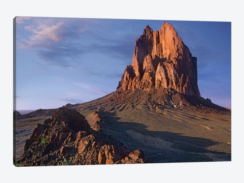 Shiprock, The Basalt Core Of An Extinct Volcano, New Mexico IV by Tim Fitzharris 1-piece Canvas Artwork