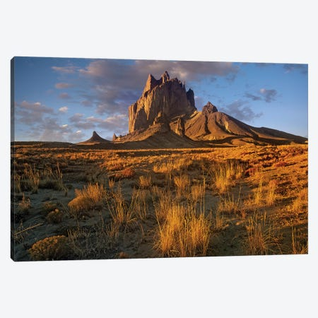 Shiprock, The Basalt Core Of An Extinct Volcano, New Mexico V Canvas Print #TFI996} by Tim Fitzharris Art Print