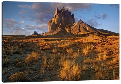 Shiprock, The Basalt Core Of An Extinct Volcano, New Mexico V Canvas Art Print