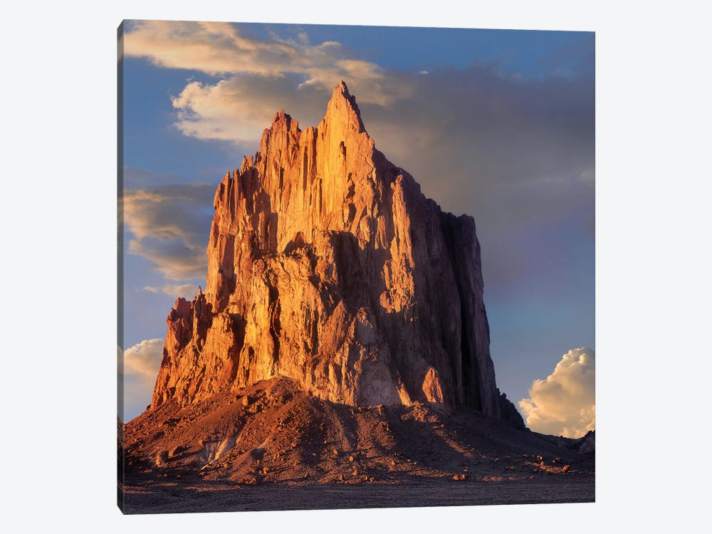 Shiprock, The Basalt Core Of An Extinct Volcano, New Mexico VI by Tim Fitzharris 1-piece Canvas Art