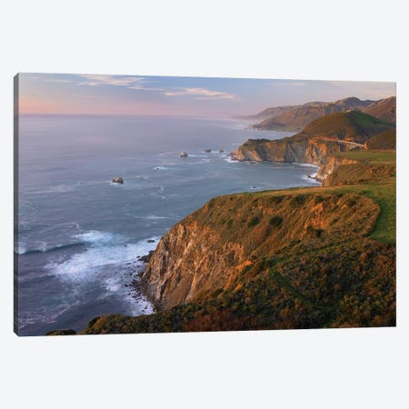 Bixby Bridge, Big Sur, California I Canvas Print #TFI99} by Tim Fitzharris Art Print