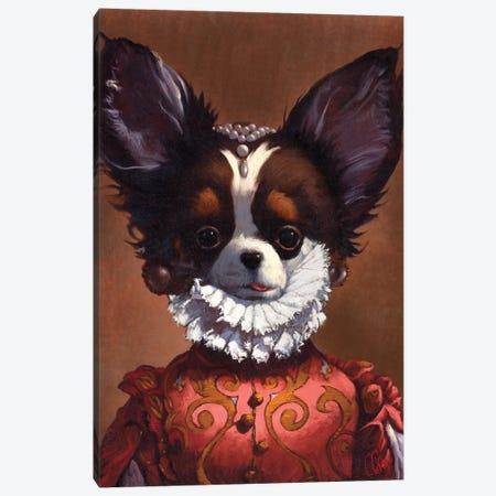Queenie Canvas Print #TFL12} by Thomas Fluharty Canvas Art