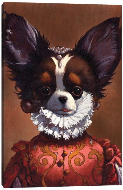 Queenie Canvas Art Print