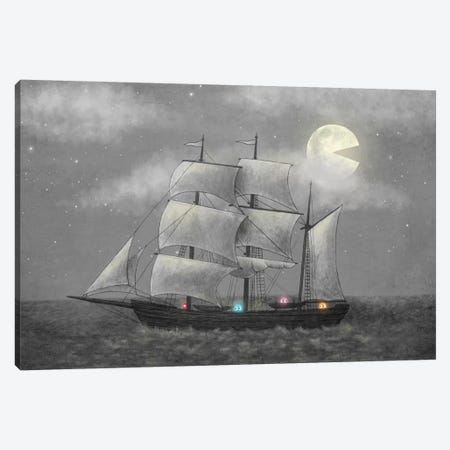 Ghost Ship Canvas Print #TFN100} by Terry Fan Canvas Artwork