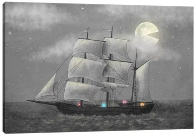 Ghost Ship Canvas Print #TFN100