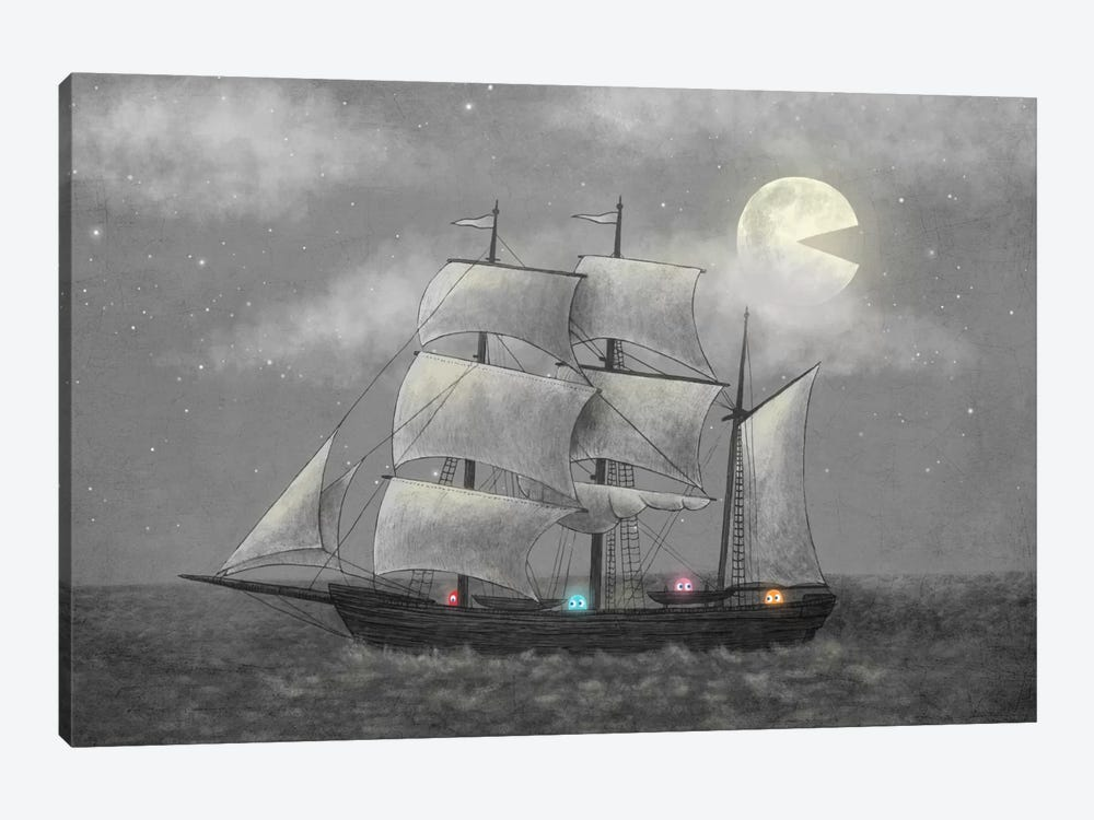 Ghost Ship by Terry Fan 1-piece Canvas Art Print