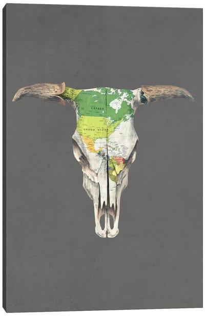 Go West Portrait Canvas Print #TFN103