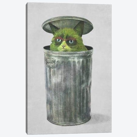 Grouchy Cat Canvas Print #TFN104} by Terry Fan Art Print