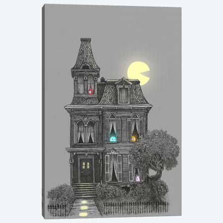 Haunted By The 80's Canvas Print #TFN106} by Terry Fan Art Print