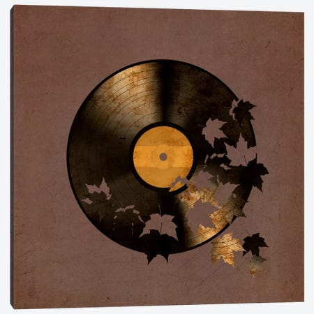 Autumn Song Canvas Print #TFN10} by Terry Fan Canvas Wall Art