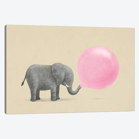 Jumbo Bubble Gum Canvas Print #TFN113} by Terry Fan Art Print