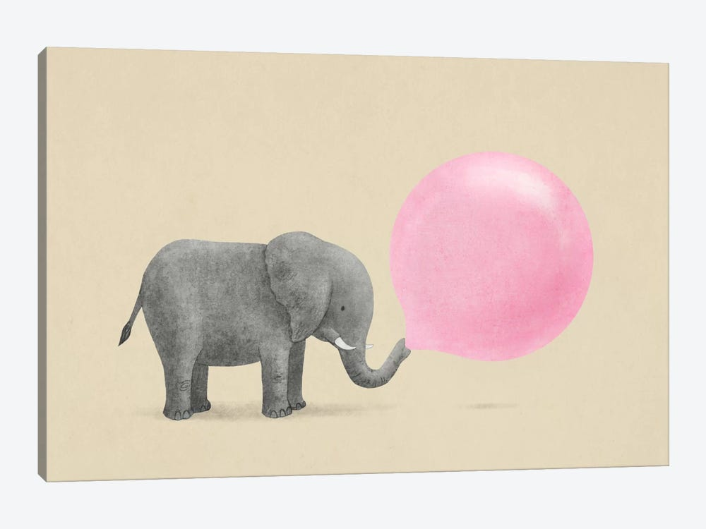 Jumbo Bubble Gum by Terry Fan 1-piece Canvas Print
