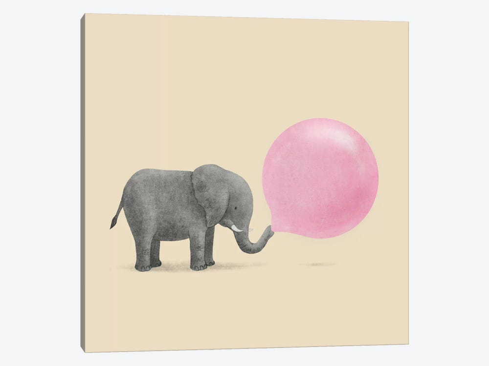 Jumbo Bubble Gum Square by Terry Fan 1-piece Art Print
