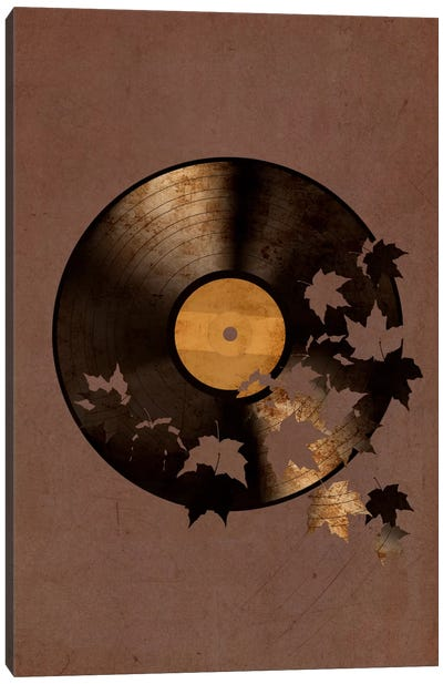 Autumn Song Portrait Canvas Art Print