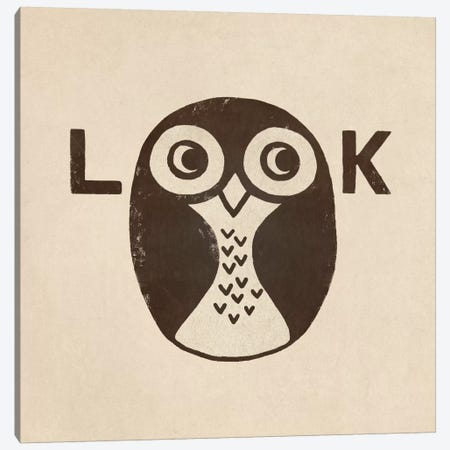Look Canvas Print #TFN120} by Terry Fan Canvas Wall Art
