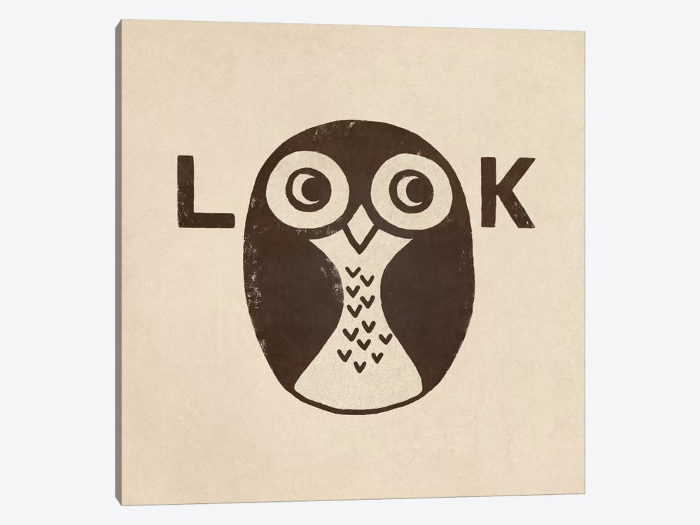 Look by Terry Fan 1-piece Canvas Print