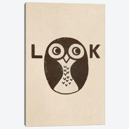 Look Portrait Canvas Print #TFN121} by Terry Fan Canvas Wall Art