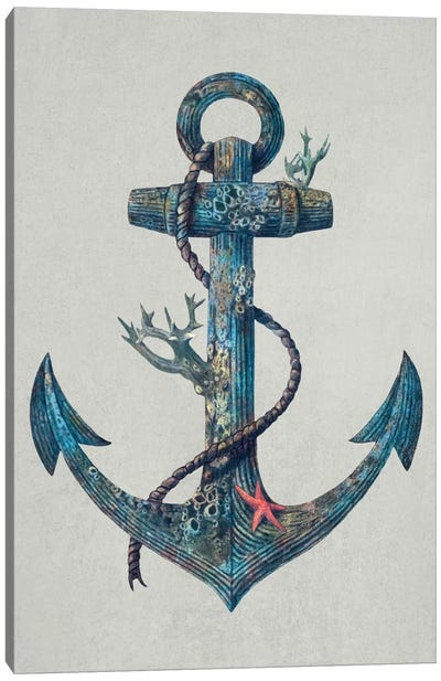 Lost at Sea #1 Canvas Art Print