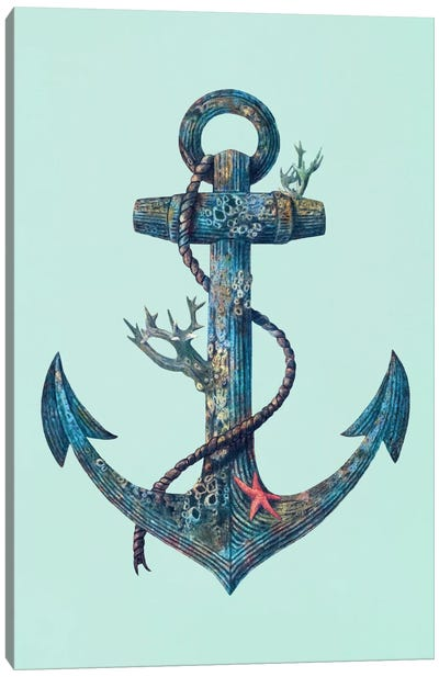 Lost at Sea #2 Canvas Art Print