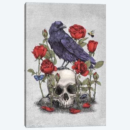 Memento Mori Canvas Print #TFN128} by Terry Fan Canvas Art
