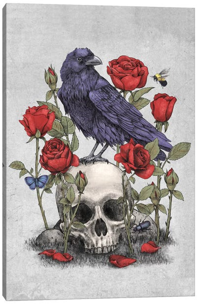 Memento Mori Canvas Art Print