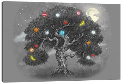Midnight Snack Canvas Art Print