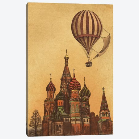 Moving To Moscow Canvas Print #TFN132} by Terry Fan Canvas Print