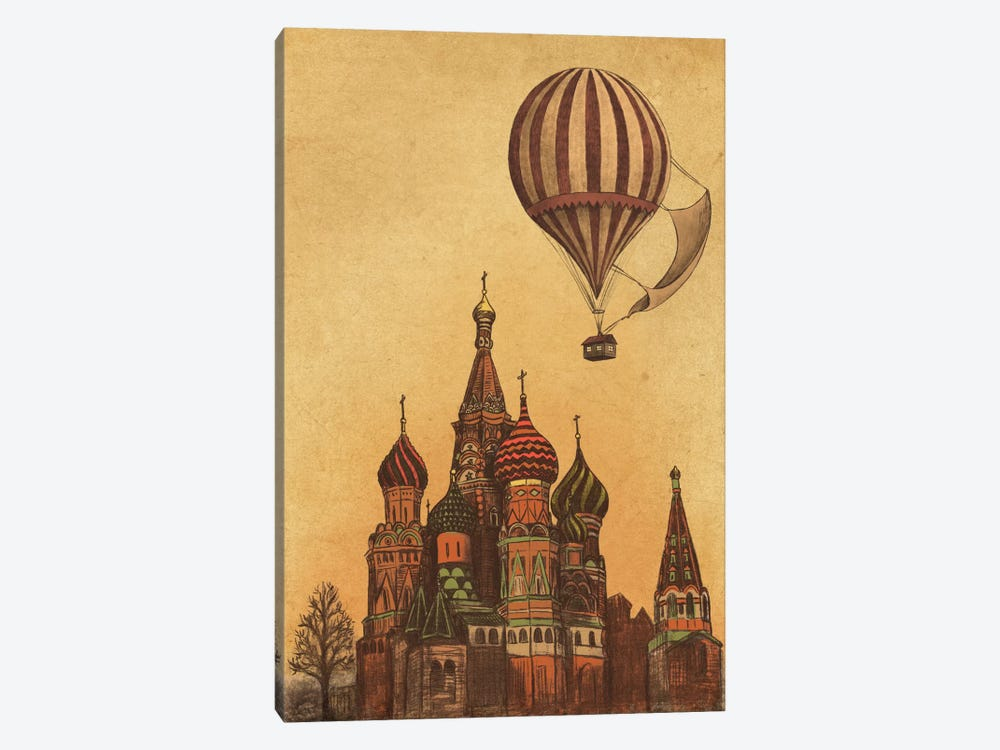 Moving To Moscow by Terry Fan 1-piece Canvas Art