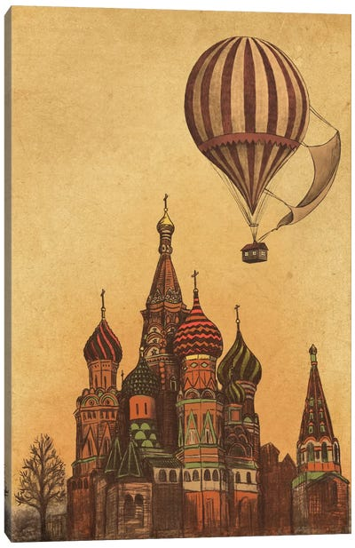Moving To Moscow Canvas Art Print