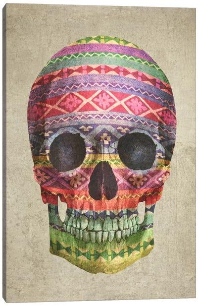 Navajo Skull Canvas Art Print
