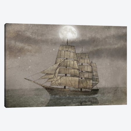 Night Journey Canvas Print #TFN139} by Terry Fan Canvas Print