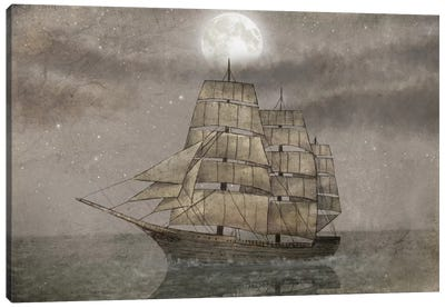 Night Journey Canvas Art Print