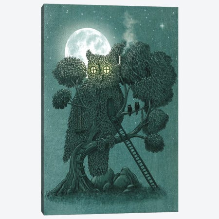 Night Watch Canvas Print #TFN143} by Terry Fan Canvas Artwork