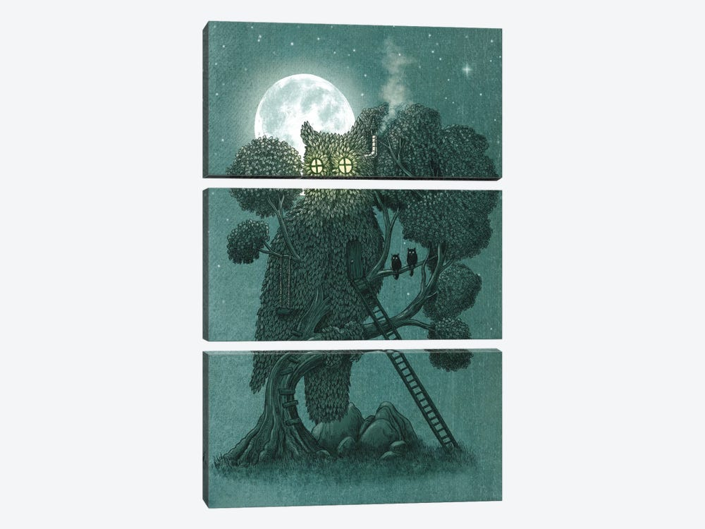 Night Watch by Terry Fan 3-piece Canvas Artwork
