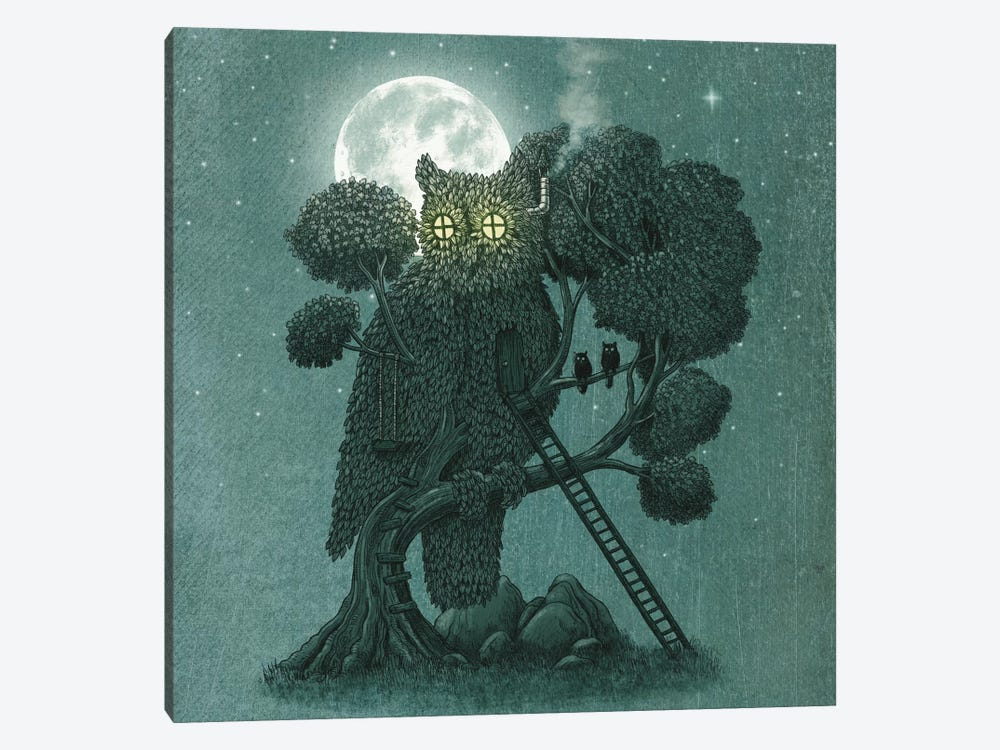 Nightwatch Square by Terry Fan 1-piece Art Print