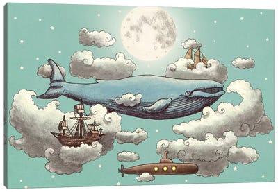 Ocean Meets Sky #2 Canvas Art Print