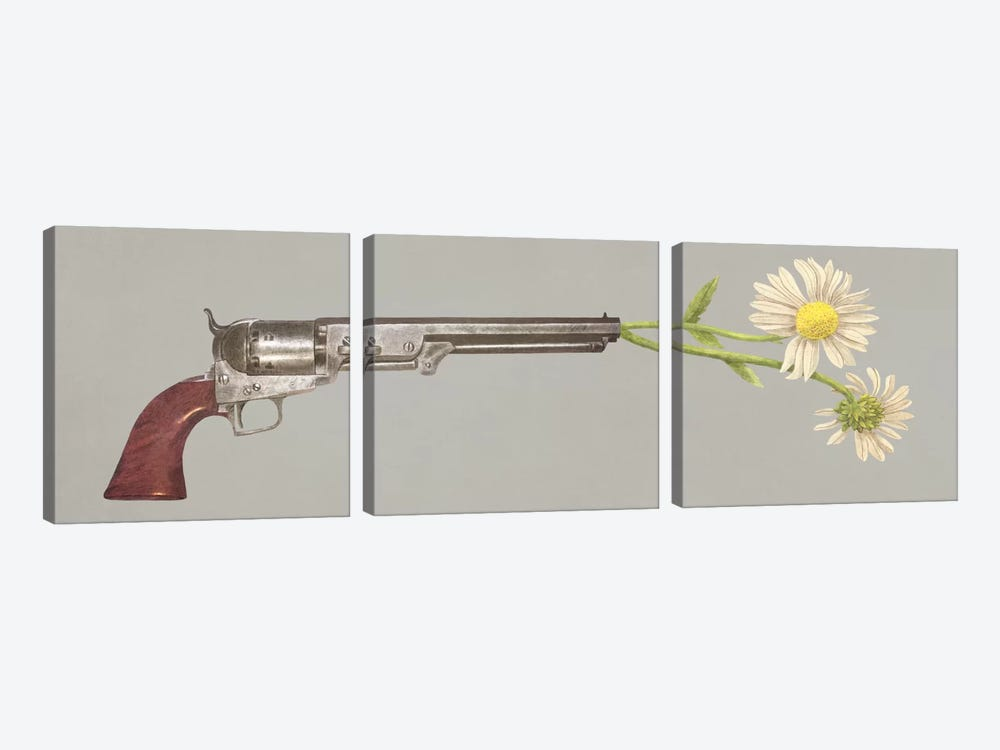Peacemaker Option by Terry Fan 3-piece Art Print