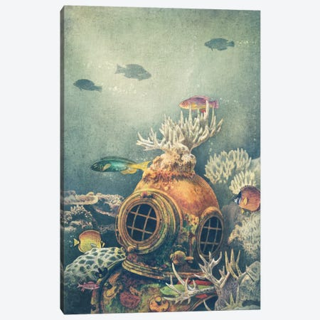 Seachange Canvas Print #TFN168} by Terry Fan Canvas Artwork