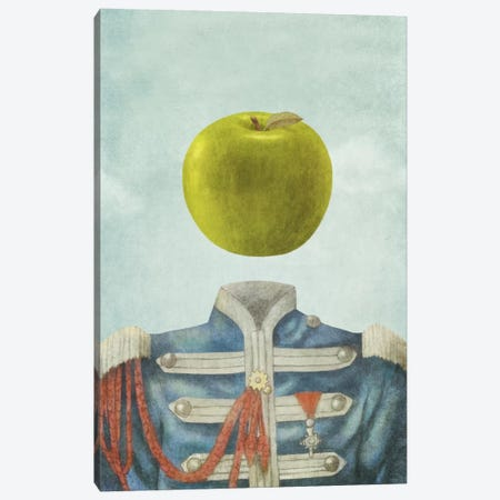 Sgt. Apple Canvas Print #TFN172} by Terry Fan Canvas Print