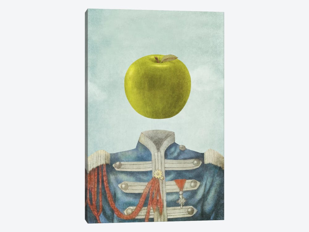 Sgt. Apple by Terry Fan 1-piece Canvas Wall Art