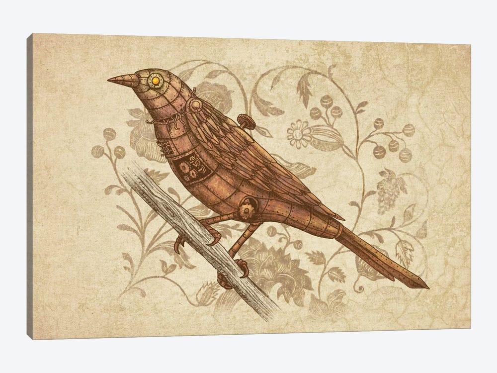 Steampunk Songbird by Terry Fan 1-piece Canvas Art