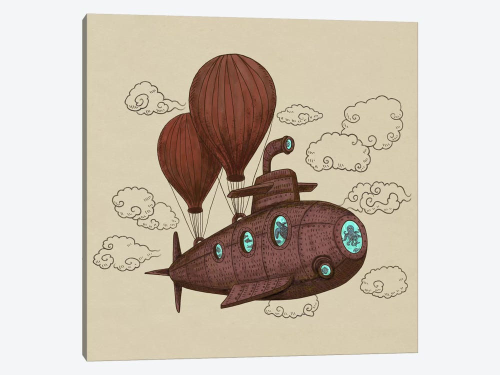 The Fantastic Voyage by Terry Fan 1-piece Canvas Wall Art
