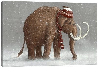 The Ice Age Sucked Canvas Art Print
