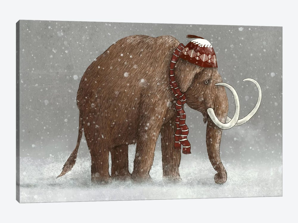The Ice Age Sucked by Terry Fan 1-piece Canvas Wall Art