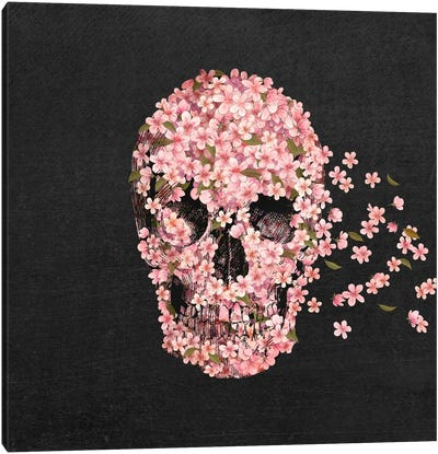 A Beautiful Death Canvas Art Print